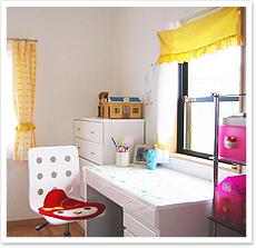 女の子の子供部屋